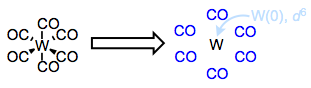 Tungsten(0) hexacarbonyl. Why doesn't it fall apart?