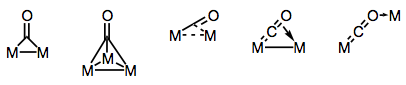 Building bridges with carbonyl ligands!