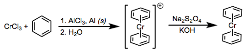 The Fischer-Hafner synthesis. Reduction of metal halides in the presence of arene.