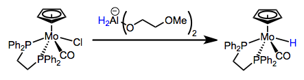 Nucleophilic substitution with a hydride source. What's the most likely mechanism?