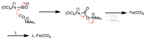 Oxidation of CO with amine oxides. A fun method for dissociative substitution of metal carbonyls!