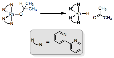 β-Elimination helps transfer the elements of dihydrogen from one organic compound to another.